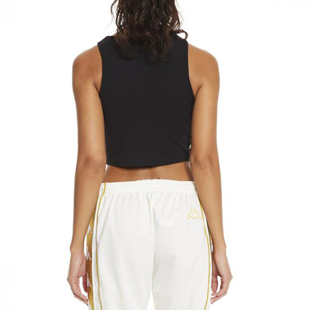222 Banda Armenis Black Crop Tank