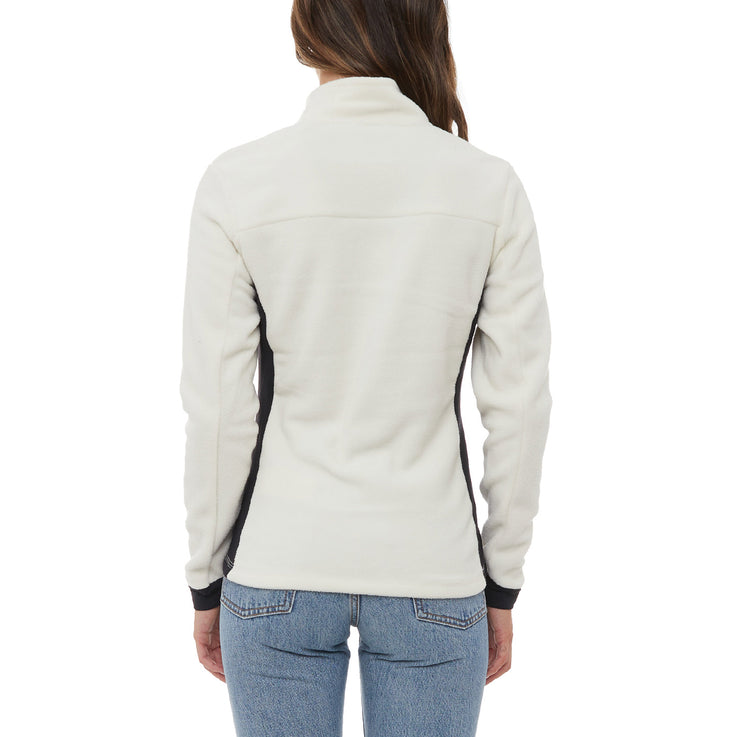 Kappa 6Cento 688 Fleece Jacket - White Black
