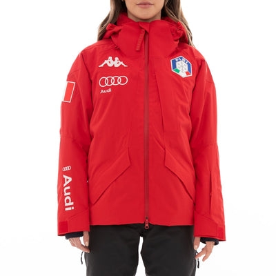 6Cento 612 Fisi Ski Jacket - Red