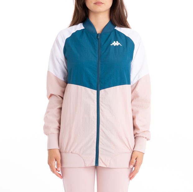 Authentic 90 Bernina Jacket - Blue Petrol Pink Wht