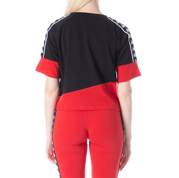 222 Banda Balimnos T-Shirt - Red Black