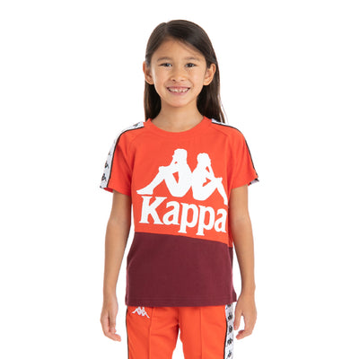 Kids 222 Banda Baldwin T-Shirt - Orange Flame
