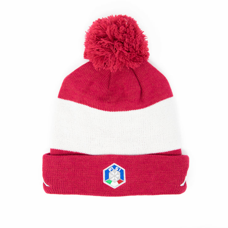 6Cento Flock P Fisi Hat - Red Cerise