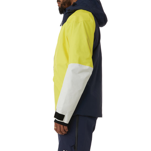 Kappa 6Cento 611p Ski Jacket - Blue Yellow