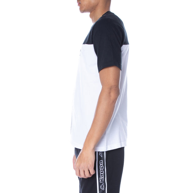 Logo Bacuso T-Shirt Black White Grey