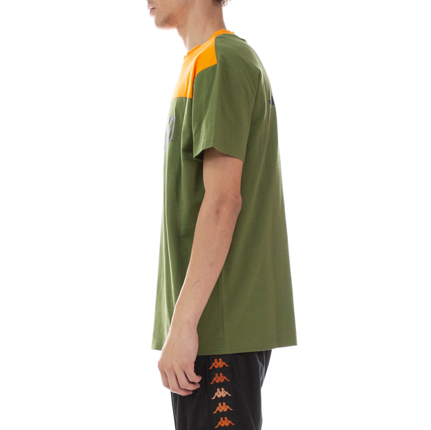 Authentic 90 Bansa T-Shirt - Green Orange Black