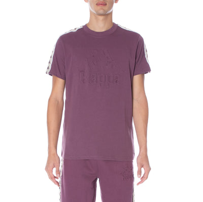 222 Banda Bekkia T-Shirt - Wine Egg