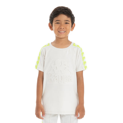 Kids 222 Banda Bekkia - Grey Vapor Green Lime
