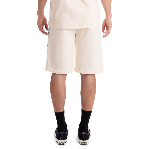 Kappa 222 Banda Marvz Beige Grey Silver Black Shorts