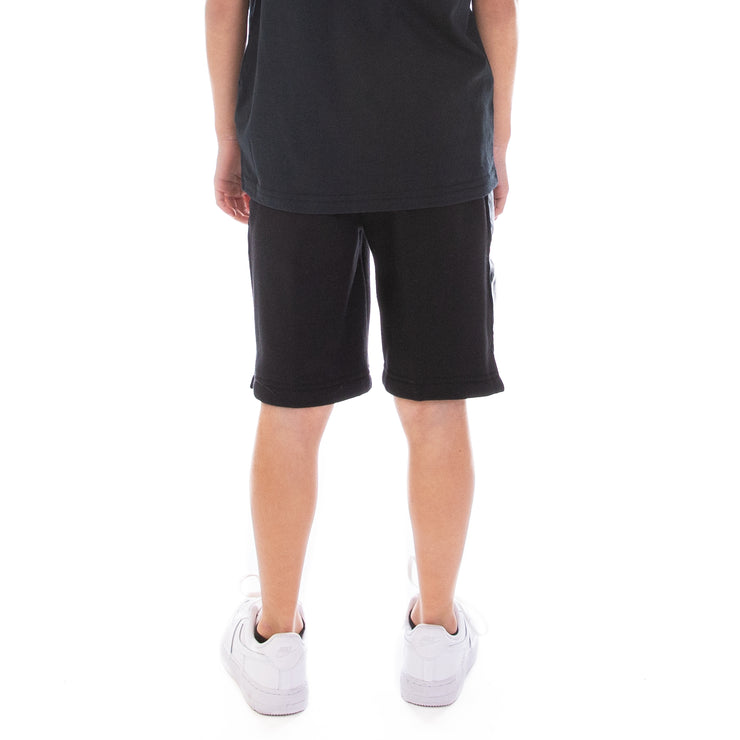 Kids 222 Banda Marvz Shorts Black White Antique