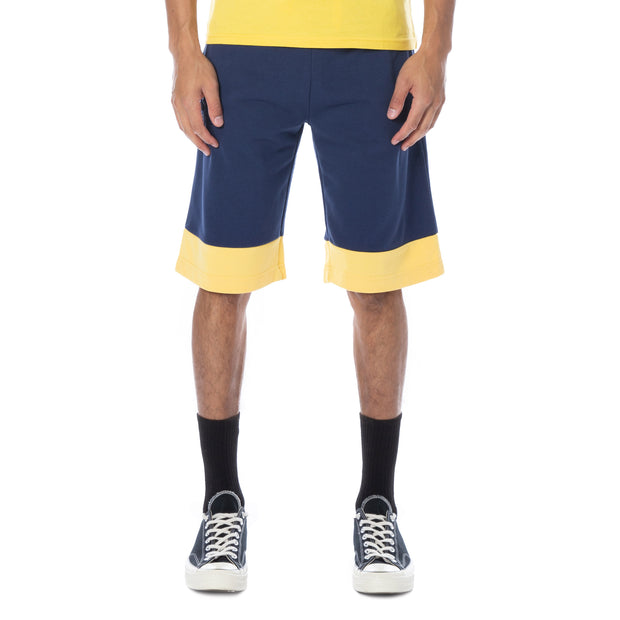 Authentic Sand Collide Shorts - Blue Md Yellow