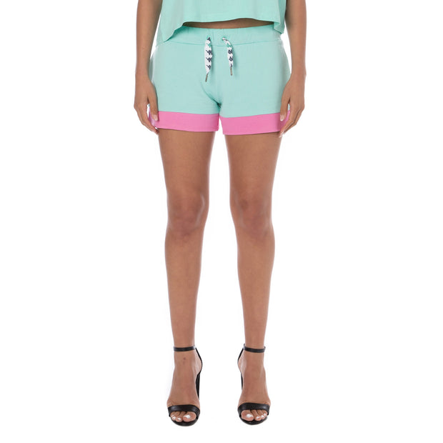 Authentic Sand Colta Shorts - Aqua Pink