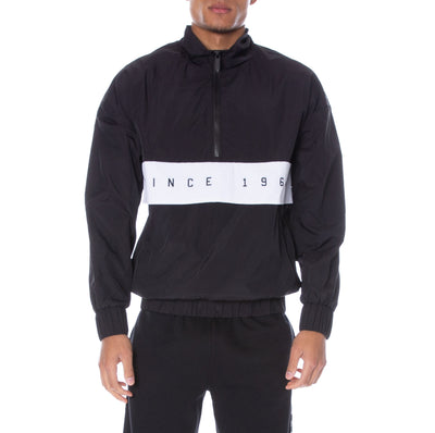Authentic LA Camarg Anorak Black White Black