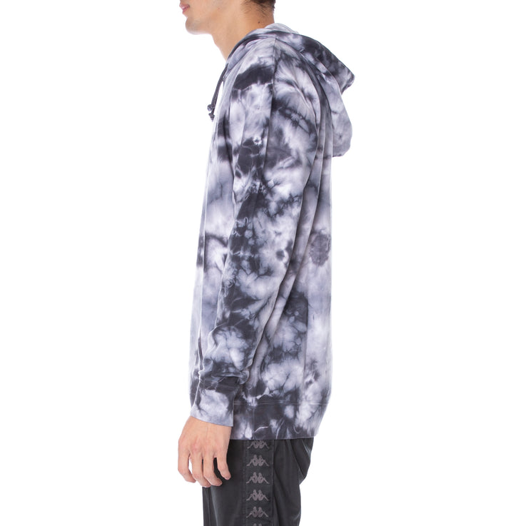 Kappa Authentic Coutro Tie Dye Hoodie