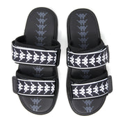 222 Banda Aster 1 Sandals - Black White