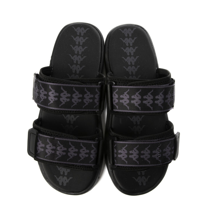 222 Banda Aster 1 Sandals - Black Dk Grey