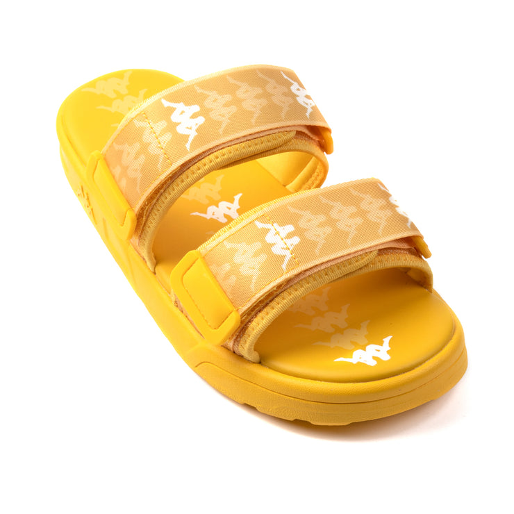 222 Banda Aster 1 Sandals - Yellow White