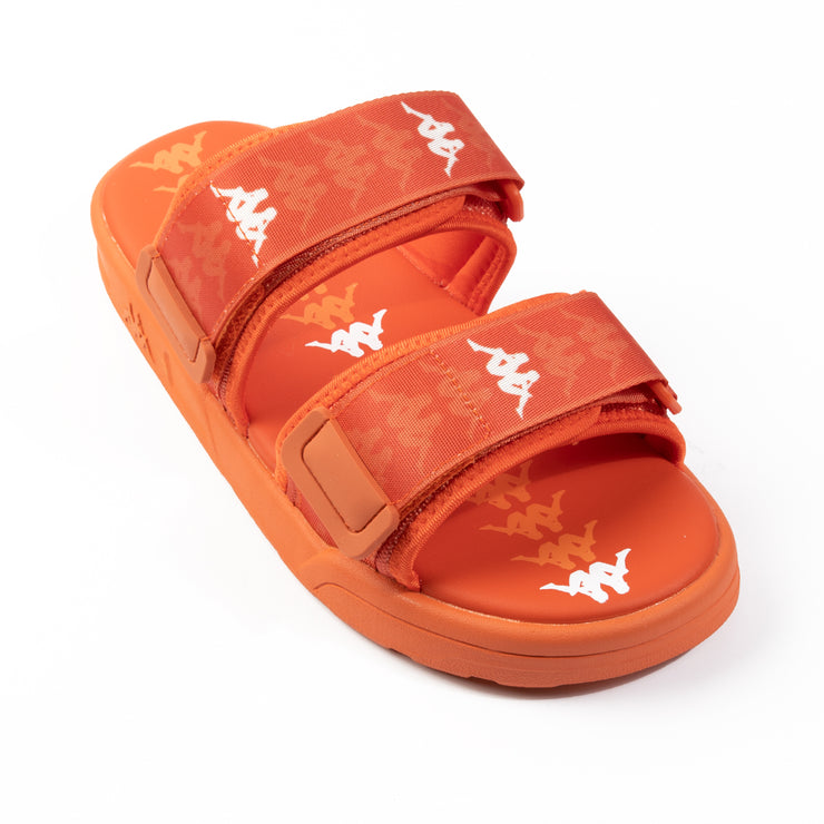 222 Banda Aster 1 Sandals - Orange White