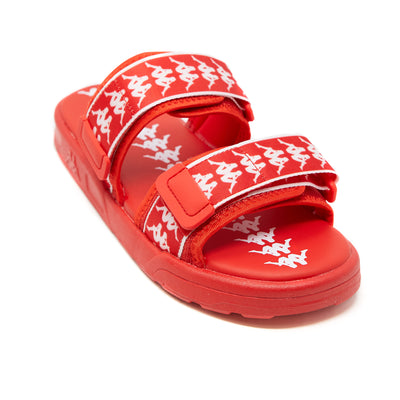 222 Banda Aster 1 Sandals - Red White