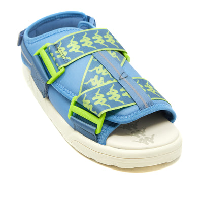 222 Banda Mitel 2 Sandals - Blue Green Lime