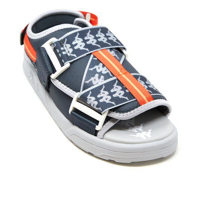 222 Banda Mitel 2 Sandals - Grey Lt Orange