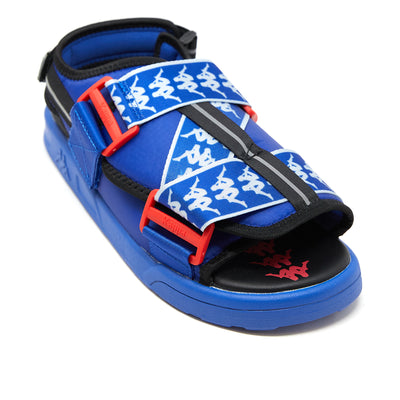 222 Banda Mitel 2 Sandals - Blue Black Red