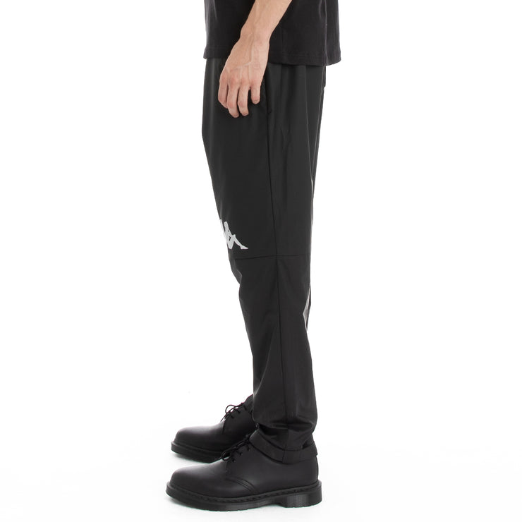 Kappa Authentic Utility Blast Woven Pants - Black Grey Silver
