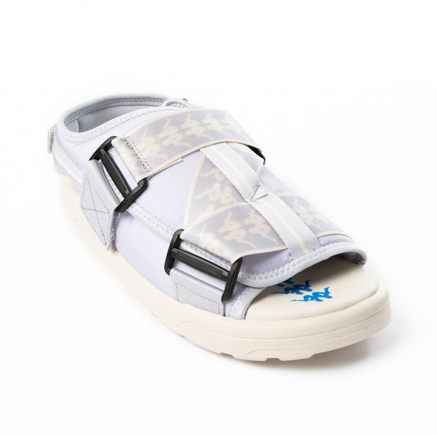 222 Banda Mitel 2 Sandals - Grey White Blue