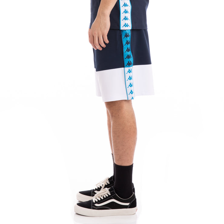 Authentic Biplus Blue Navy White Shorts