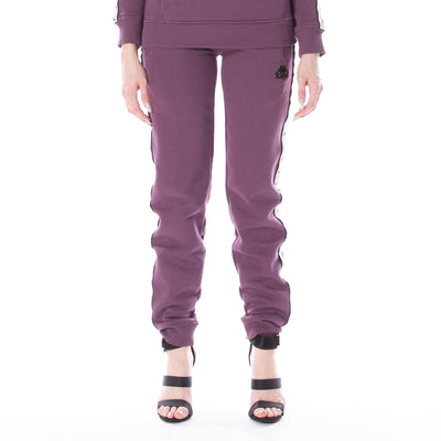 222 Banda Barnu Sweatpants Plum White Egg Black