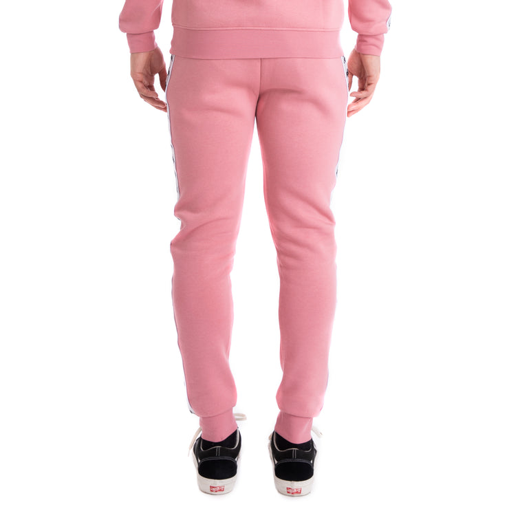 Kappa 222 Banda Alanz Pink Grey Silver Black Sweatpants