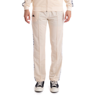 Kappa 222 Banda Astoriazz Beige Grey Silver Black Trackpants