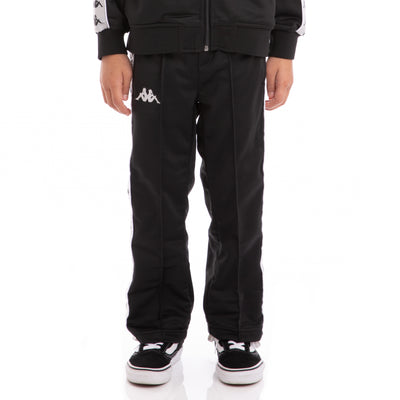 Kappa Kids 222 Banda Astoriazz Black Greysilver White Trackpants