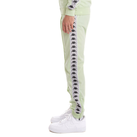 Kappa 222 Banda Rastoriazz Green Grey Silver Black Trackpants