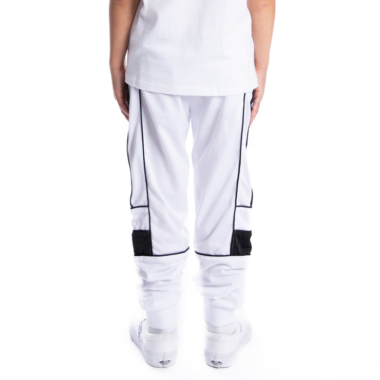 Kids 222 Banda Memzz Trackpants - White Black