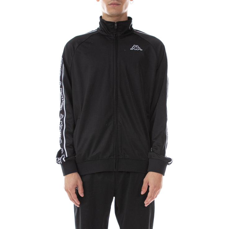 Logo Tape Artem Track Jacket - Black