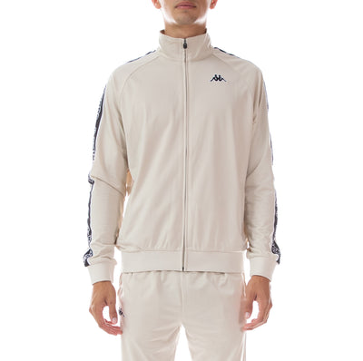 Logo Tape Artem Track Jacket - Grey Oyster Black