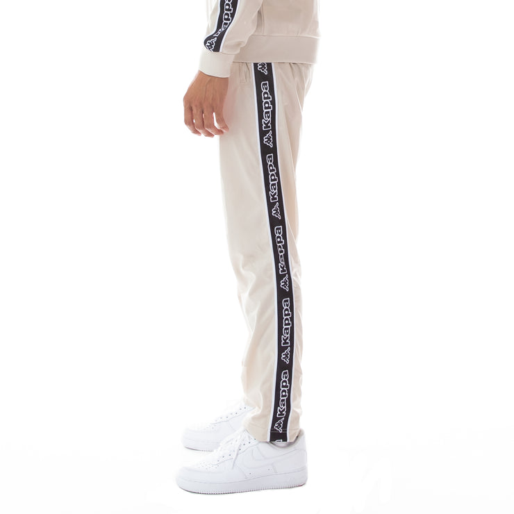 Logo Tape Aplec Trackpants - Grey Oyster
