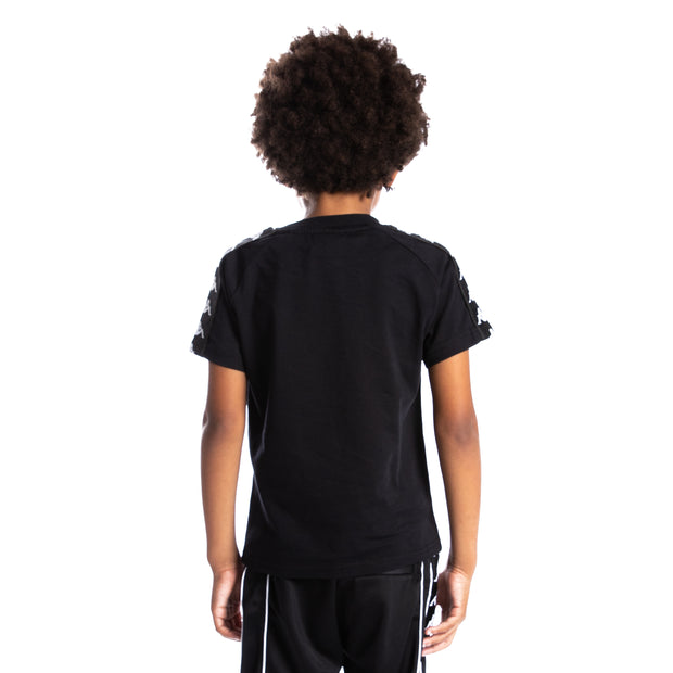 Kids 222 Banda Balima T-Shirt - Black White