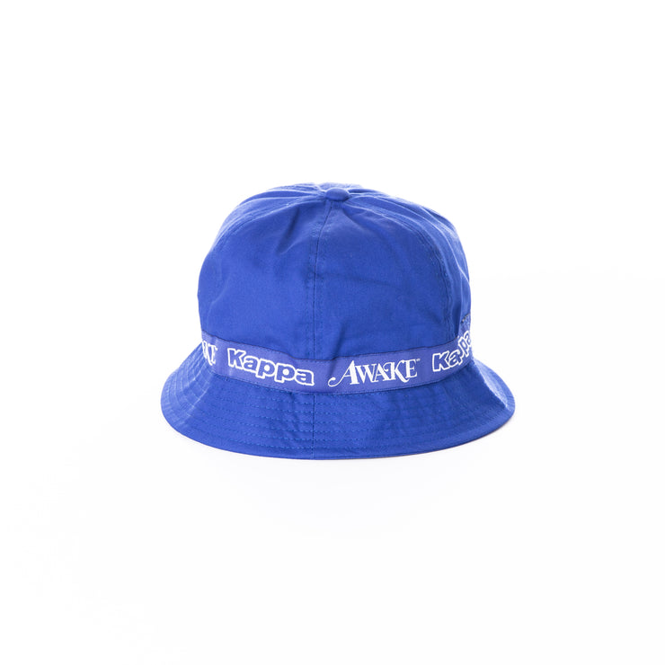 Awake NY x Kappa Evan Bucket Hat Blue Royal - Blue Royal