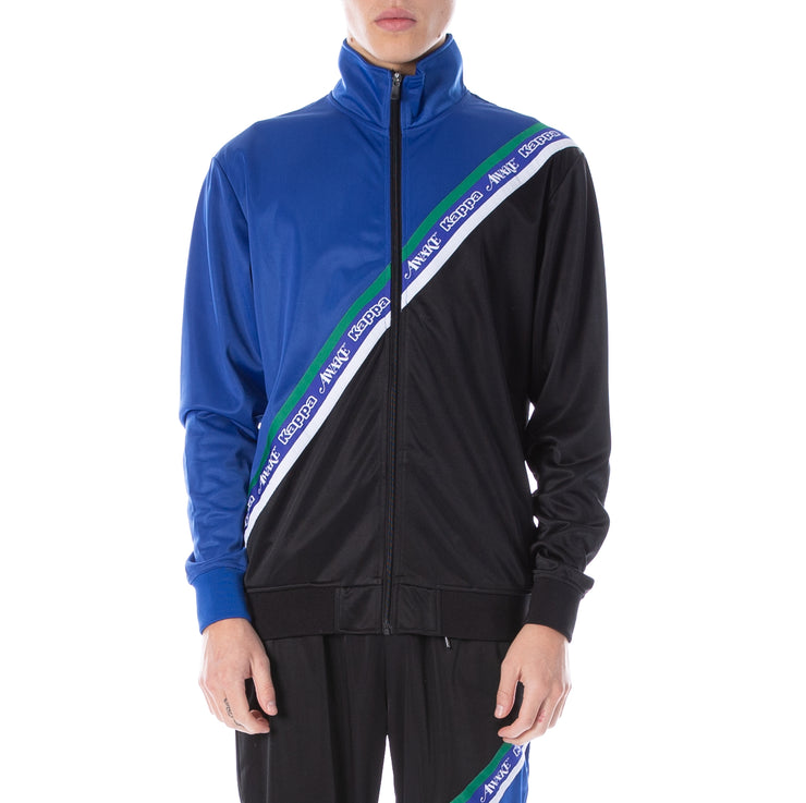 Awake NY x Kappa Eldred Track Jacket Blue Royal Black - Blue Royal Black