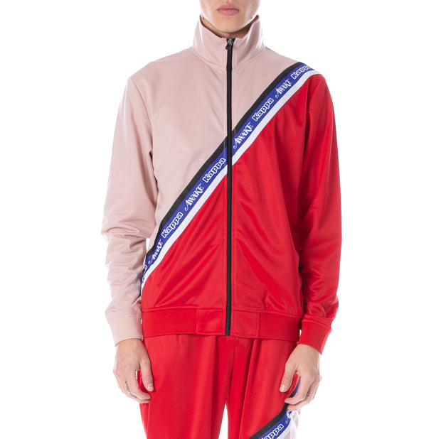 Awake NY x Kappa Eldred Track Jacket Pink Red - Pink Red