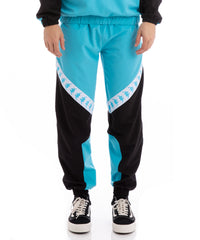 Authentic Balmar Black Turquoise White Trackpants - XS / BLACK TURQUOISE WHITE / 304S1F0-A08