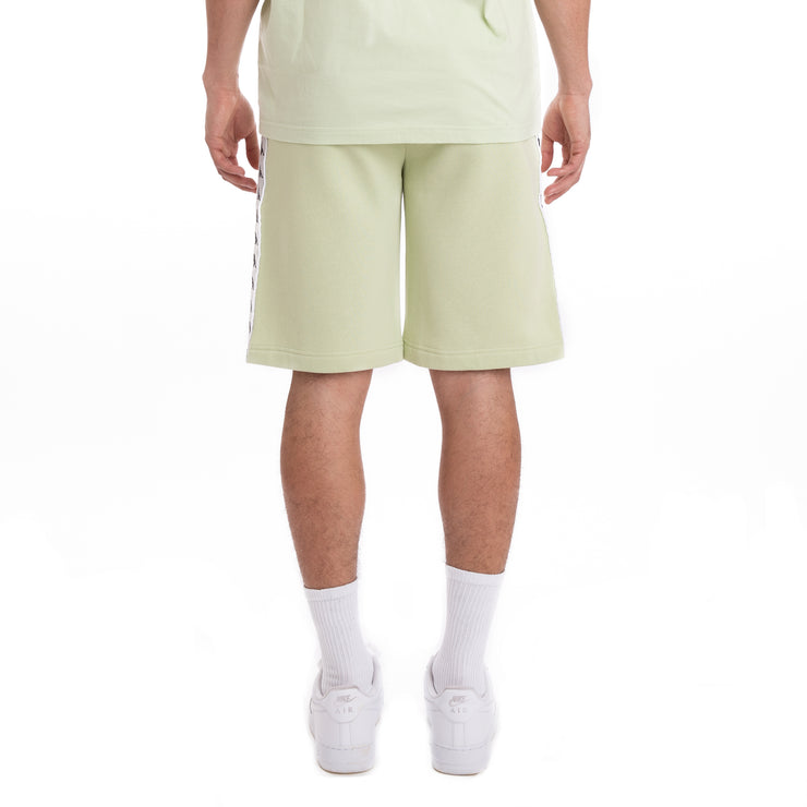 Kappa 222 Banda Marvz Green Grey Silver Black Shorts