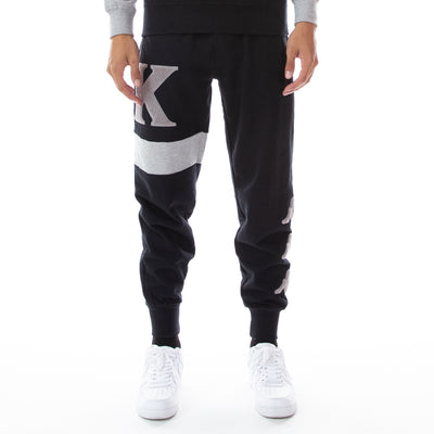 Authentic Bartus Sweatpants - Black Grey Md Black
