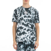 Kappa Authentic Dami Marbled T-Shirt - Black White