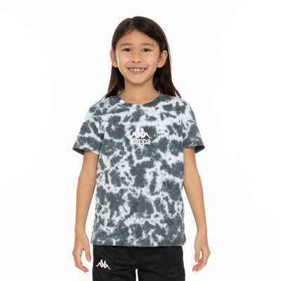 Kids Authentic Dami Marbled T-Shirt - Black