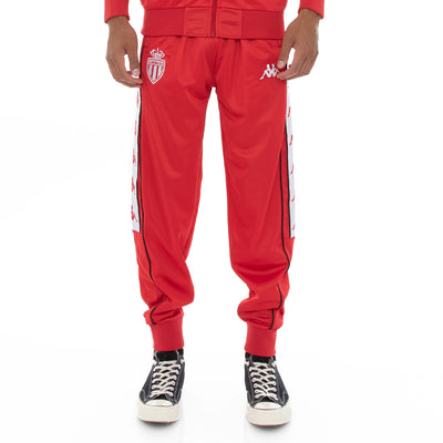 222 Banda 10 Aril Retro Monaco Trackpants - Red White