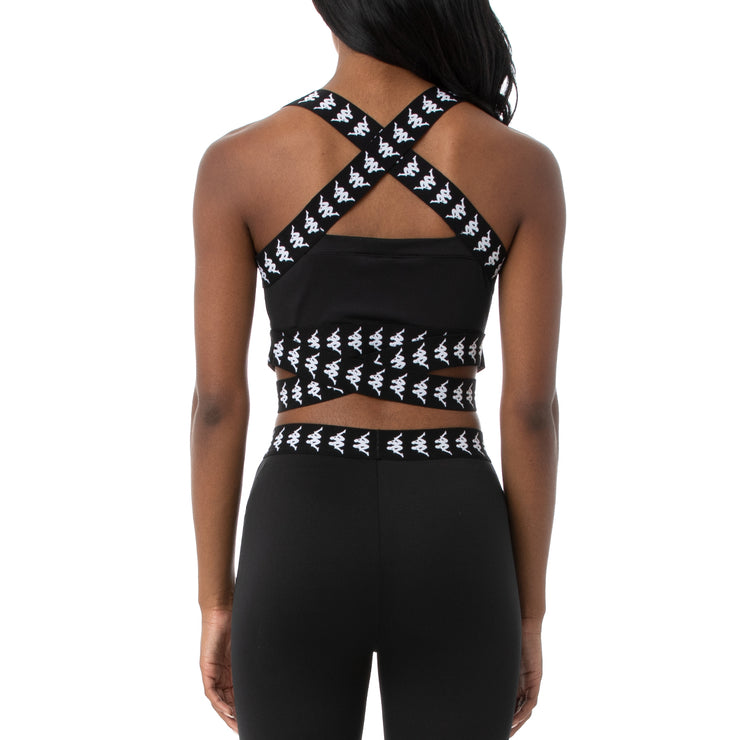 222 Banda Dixot Sports Bra - Black