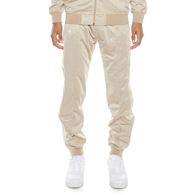 222 Banda Deky Trackpants - Beige Sand White